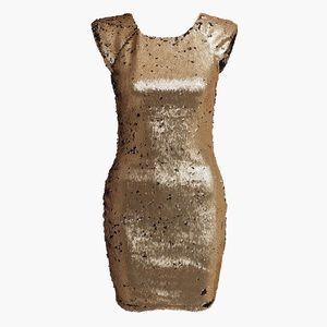 NWT AX PARIS Two Way Sequin Bodycon Dress 6